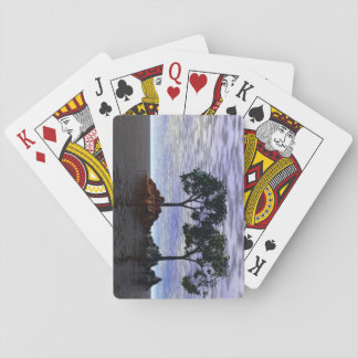 Trees of Fire and Ice Poker Deck