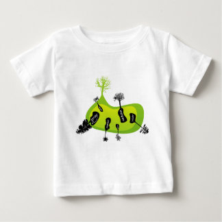 Trees on seasons infant T-shirt
