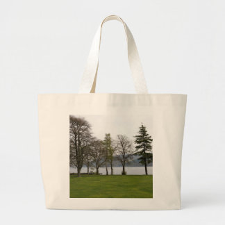 Trees on the shore of Loch Ness Tote Bag