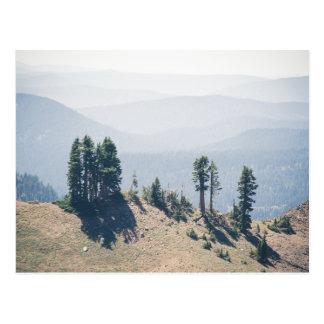 Trees Overlooking Lassen | Postcard