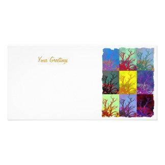 TREES CUSTOMISED PHOTO CARD