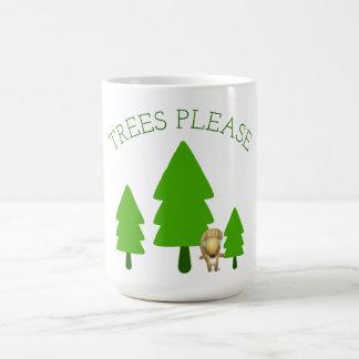 Trees Please Coffee Mug
