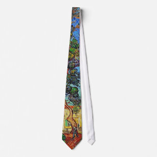 Trees St-Paul Hospital Garden Van Gogh Fine Art Tie