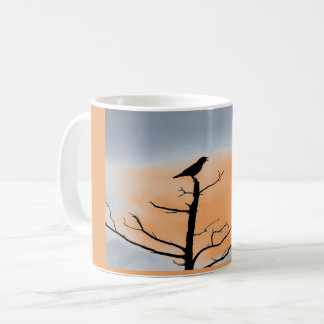 Treetop Crow Coffee Mug