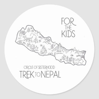 Trek to Nepal - FTK Sticker