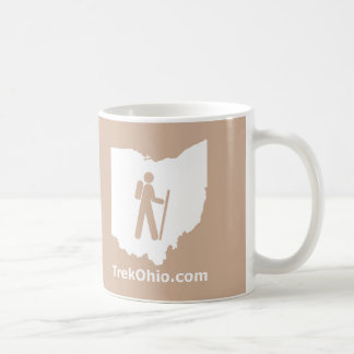 TrekOhio Mug, Tan Basic White Mug