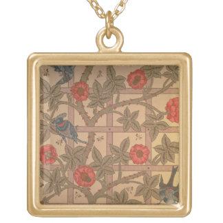 'Trellis' wallpaper design, 1864 Custom Jewelry