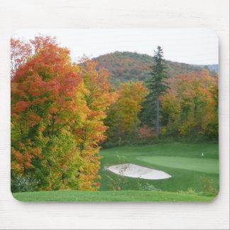 Tremblant golf mousepad