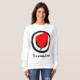 trembling sweatshirt