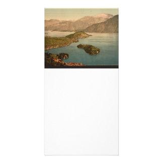Tremezzina Bay Lake Como Italy Photo Card