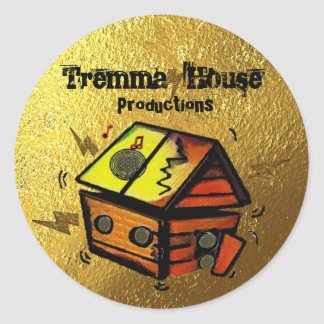 Tremma House Productions Classic Round Sticker