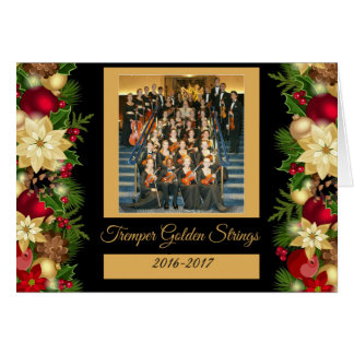 Tremper Golden Strings Holiday  Kenosha Wisconsin Card