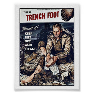Trench Foot Poster