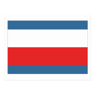 Trencin Flag Postcard