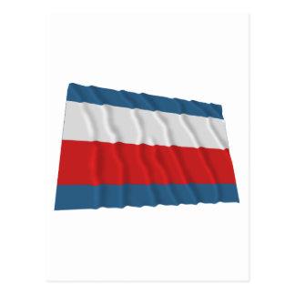 Trencin Waving Flag Postcard