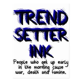 Trend Setter Ink - #2 Postcard