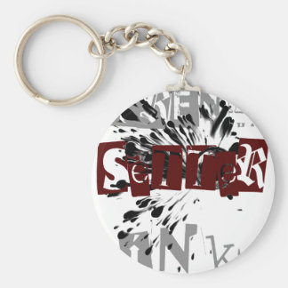 Trend Setter Ink - #3 Basic Round Button Key Ring