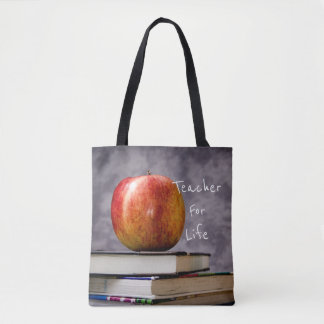 Trend-Setters Teacher For Life, Born To Teach Tote