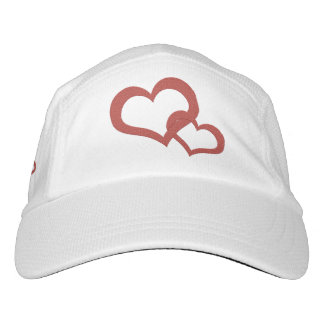 Trend-Setters Two Hearts Intertwined Designer Hat