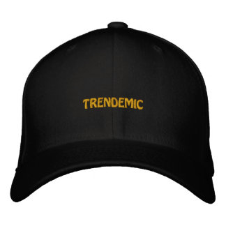 TRENDEMIC EMBROIDERED CAP