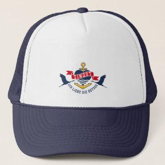 Trendige Truckerkapper with Baltic Sea print Trucker Hat