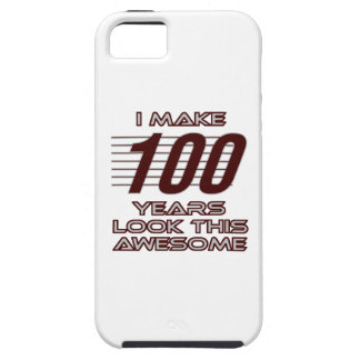 TRENDING 100 YEAR OLD BIRTHDAY DESIGNS TOUGH iPhone 5 CASE