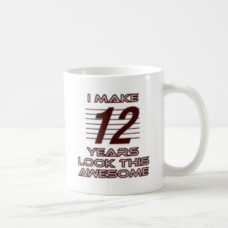 TRENDING 12 YEAR OLD BIRTHDAY DESIGNS COFFEE MUG