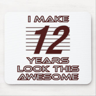 TRENDING 12 YEAR OLD BIRTHDAY DESIGNS MOUSE PAD