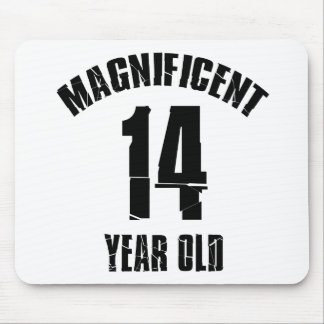 TRENDING 14 YEAR OLD BIRTHDAY DESIGNS MOUSE PAD
