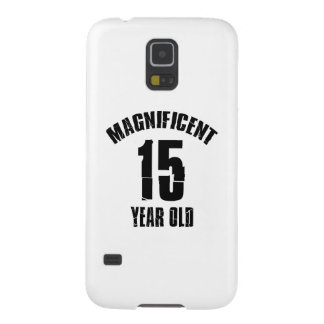 TRENDING 15 YEAR OLD BIRTHDAY DESIGNS GALAXY S5 CASE
