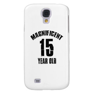TRENDING 15 YEAR OLD BIRTHDAY DESIGNS SAMSUNG GALAXY S4 COVER