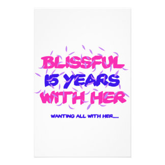 Trending 15TH marriage anniversary designs Stationery