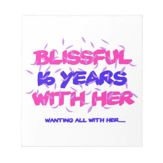 Trending 16th marriage anniversary designs notepad