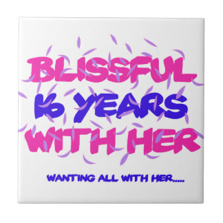 Trending 16th marriage anniversary designs tile