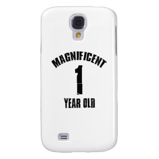 TRENDING 1 YEAR OLD BIRTHDAY DESIGNS GALAXY S4 CASE