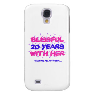 Trending 20TH marriage anniversary designs Galaxy S4 Case