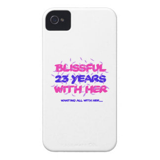 Trending 23rd marriage anniversary designs Case-Mate iPhone 4 case