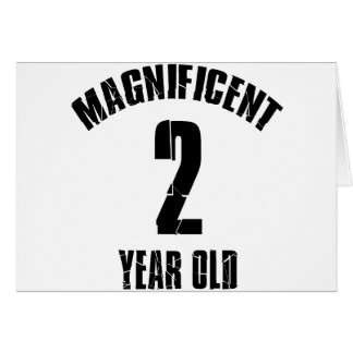 TRENDING 2 YEAR OLD BIRTHDAY DESIGNS CARD