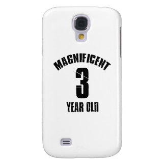 TRENDING 3 YEAR OLD BIRTHDAY DESIGNS SAMSUNG GALAXY S4 COVERS