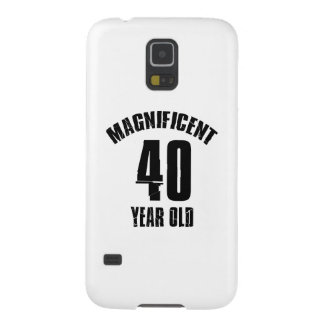 TRENDING 40 YEAR OLD BIRTHDAY DESIGNS CASE FOR GALAXY S5