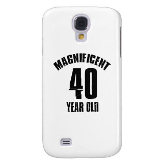 TRENDING 40 YEAR OLD BIRTHDAY DESIGNS SAMSUNG GALAXY S4 CASES