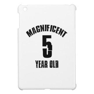 TRENDING 5 YEAR OLD BIRTHDAY DESIGNS iPad MINI COVERS