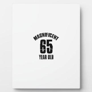 TRENDING 65 YEAR OLD BIRTHDAY DESIGNS PLAQUE