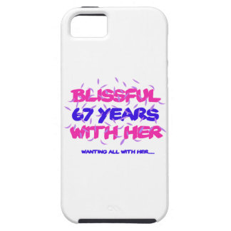 Trending 67TH marriage anniversary designs iPhone 5 Cases