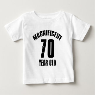 TRENDING 70 YEAR OLD BIRTHDAY DESIGNS BABY T-Shirt