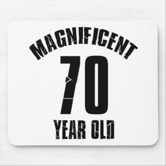 TRENDING 70 YEAR OLD BIRTHDAY DESIGNS MOUSE PAD