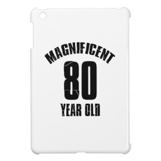 TRENDING 80 YEAR OLD BIRTHDAY DESIGNS CASE FOR THE iPad MINI