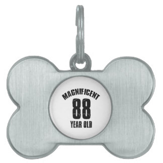 TRENDING 88 YEAR OLD BIRTHDAY DESIGNS PET TAG