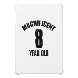 TRENDING 8 YEAR OLD BIRTHDAY DESIGNS iPad MINI COVER