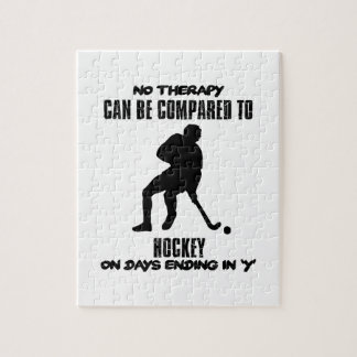 Trending and awesome Hockey designs Jigsaw Puzzle